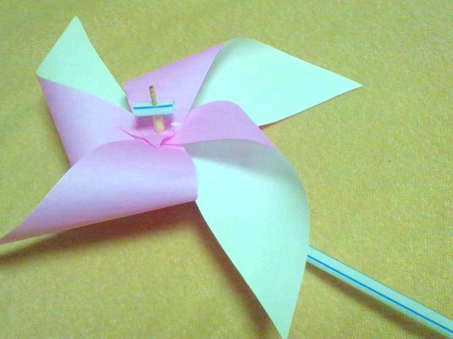 折り 折り紙 折り紙 風車 作り方 : hagifood.com